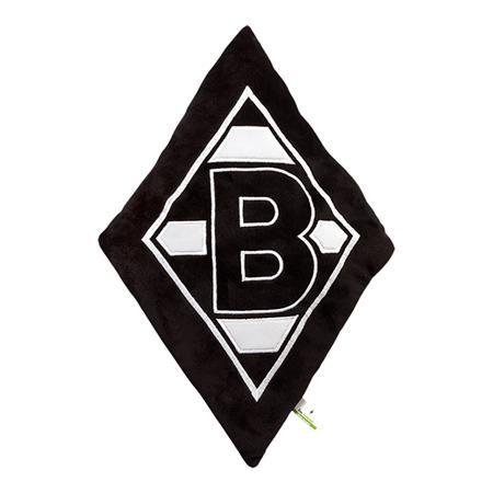Borussia Mönchengladbach Plüschkissen 'Raute'