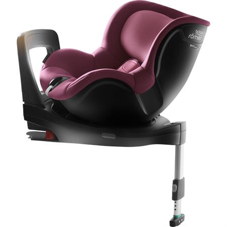 Britax Kindersitz Dualfix i-Size BR Wine Rose