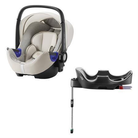Britax Römer Baby-Safe i-Size Bundle Design 2018 Sand Marble