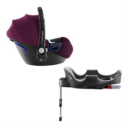 Britax Römer Baby-Safe i-Size Bundle + Base Design 2019 Burgundy Red
