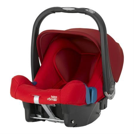 Britax Römer Babyschale Baby-Safe Plus SHR II Design 2018 Flame Red