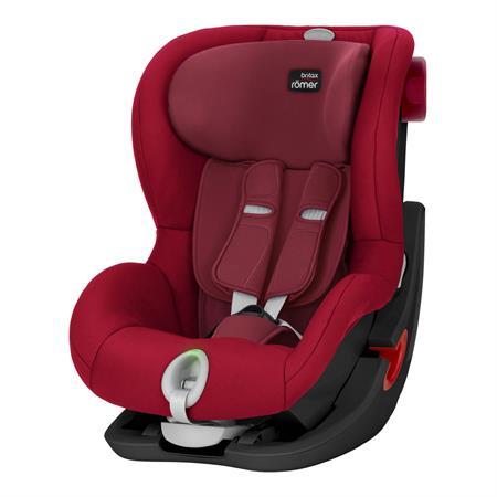 Britax Römer Kindersitz KING II LS Black Series Black Series Design 2018 Flame Red