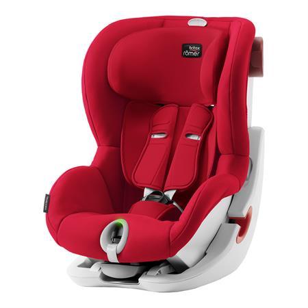 Britax Römer Kindersitz KING II LS Design 2019 Fire Red