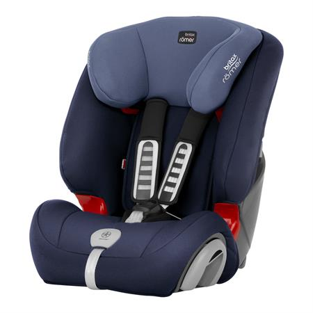 Britax Römer Kindersitz EVOLVA 1-2-3 PLUS Design 2018 Moonlight Blue