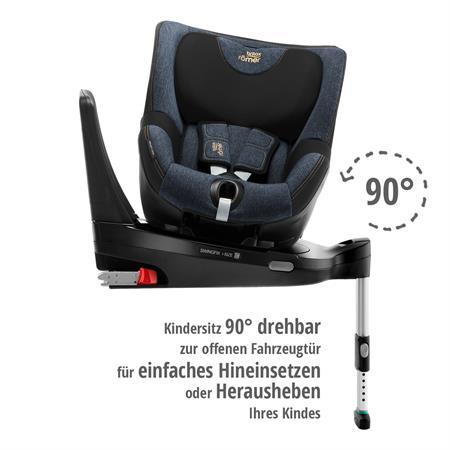 Britax Römer Kindersitz Swingfix i-Size Blue Marble