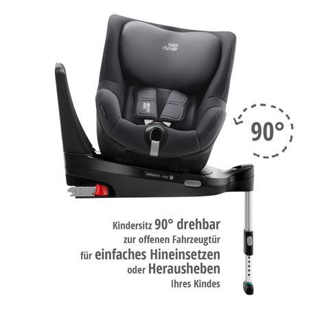 Britax Römer Kindersitz Swingfix i-Size Storm Grey