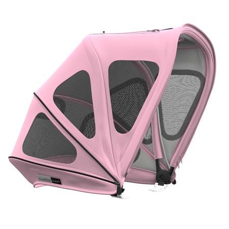 bugaboo bee Sonnendach mit Belüftungsfenstern soft pink