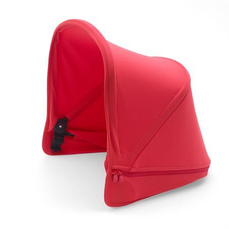 bugaboo Sonnendach für Kinderwagen Donkey2 Neonrot | Farbige Akzente setzen