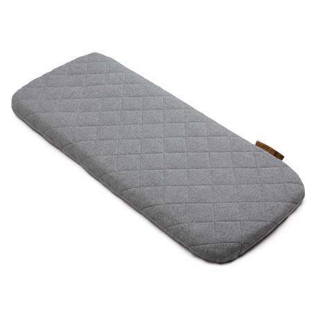 bugaboo Woll-Matratzenbezug grau meliert