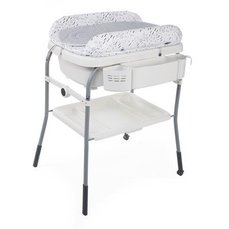 Chicco Bade- & Wickelkombination Cuddle & Bubble Comfort Design 2019 Cool Grey
