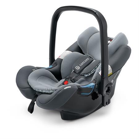concord air safe clip babyschale 2018 steel grey. Black Bedroom Furniture Sets. Home Design Ideas