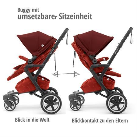 concord neo plus buggy 2019 autumn red sportsitz