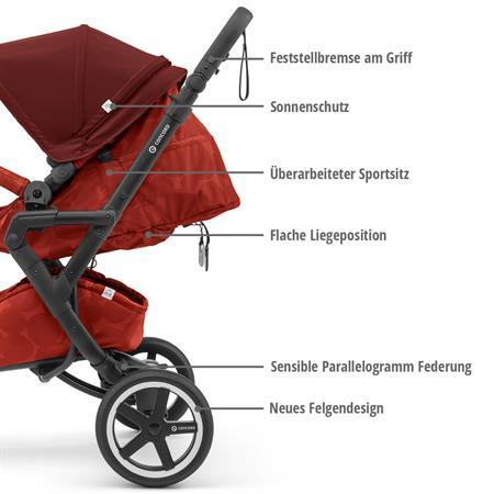 concord neo plus mobility set 2019 autumn red eigenschaften