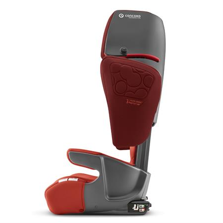 concord transformer isofix xt plus kindersitz 2019 autumn red seitenansicht