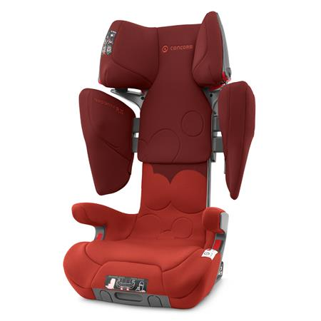 concord transformer isofix xt plus kindersitz 2019 autumn red