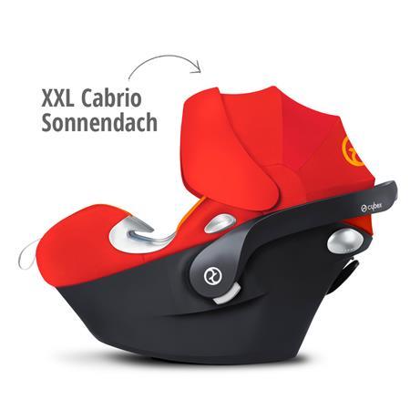 Babyschale Aton Q Plus i-Size Stardust Black | Blackmit XXL Cabrio Sonnendach