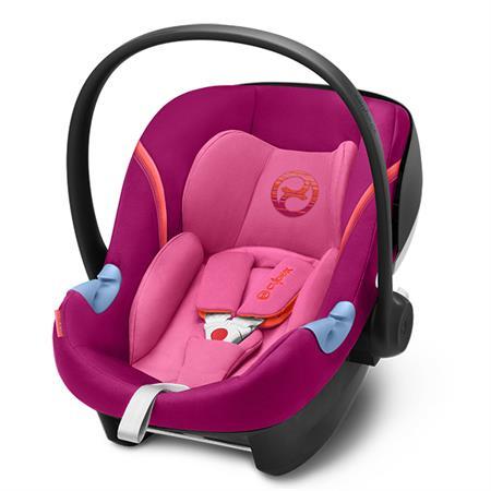 Cybex Babyschale Aton M i-Size Design 2018 Passion Pink | Purple