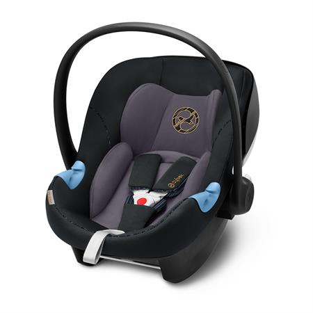 Cybex Babyschale Aton M i-Size | Design 2019 | Premium Black