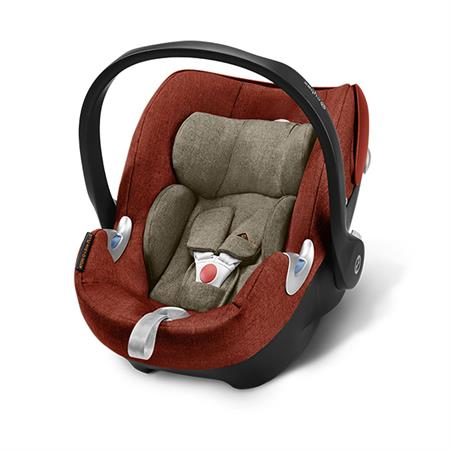 Cybex Babyschale Aton Q Plus i-Size Design 2018 Autumn Gold | Burnt Red