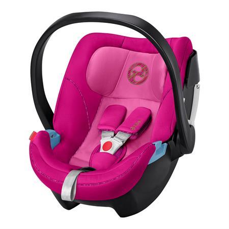 Cybex Babyschale Aton 5 Design 2019 Fancy Pink | KidsComfort.eu