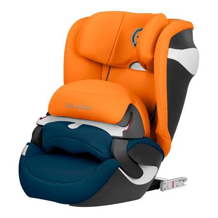 Cybex Kindersitz Juno M-Fix Design 2019 Tropical Blue | KidsComfort.eu