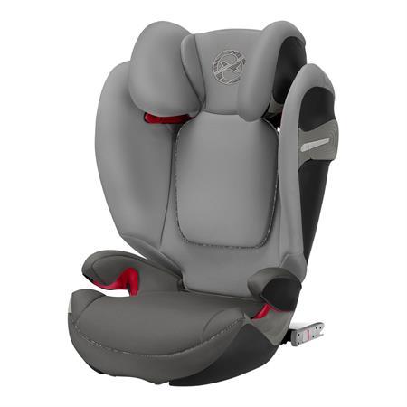 Cybex Kindersitz Solution S-Fix Design 2019 Manhattan Grey