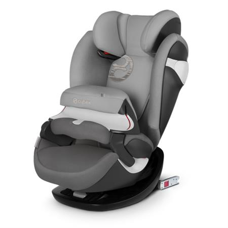Cybex Kindersitz Pallas M-Fix Design 2018 Manhattan Grey | Mid Grey
