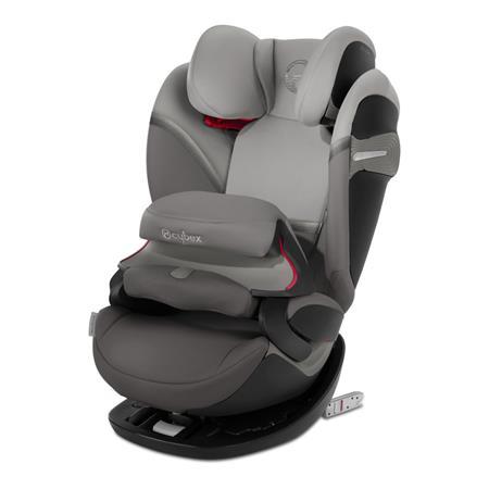 Cybex Kindersitz Pallas S-Fix Design 2020 Soho Grey | mid grey