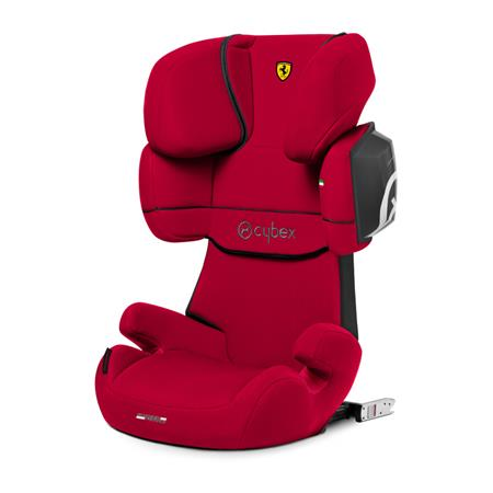 Cybex Kindersitz Solution X2-Fix Scuderia Ferrari Racing Red