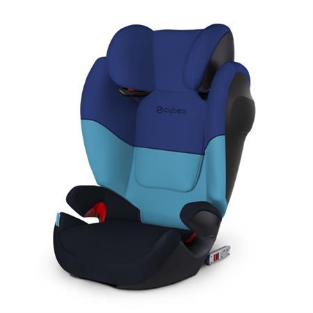 Cybex Kindersitz Solution M-Fix SL Design 2018 Blue Moon | Navy Blue