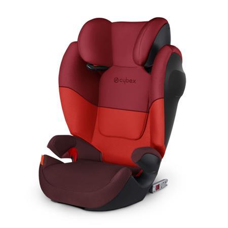 Cybex Kindersitz Solution M-Fix SL Design 2018 Rumba Red | Dark Red