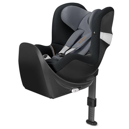 Cybex Kindersitz Sirona M2 I-SIZE inkl. Basisstation Base M Design 2018 Pepper Black | Dark Grey