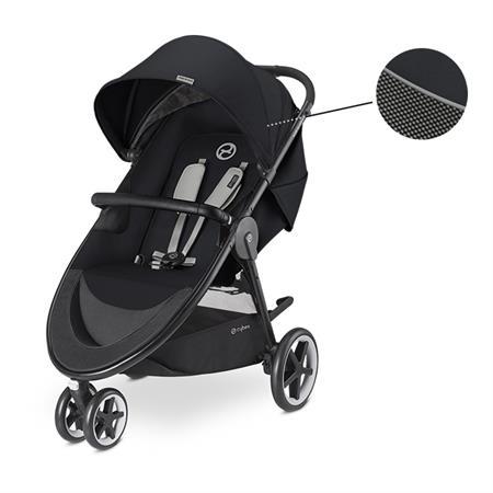 Cybex Kinderwagen Agis M-Air 3 Design 2018 Lavastone Black | Black