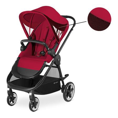Cybex Kinderwagen Iris M-Air Design 2018 Rebel Red | Red