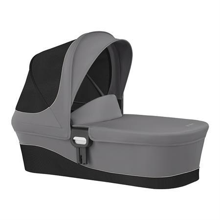 Cybex Kinderwagenaufsatz Cot M Design 2018 Manhattan Grey | Mid Grey