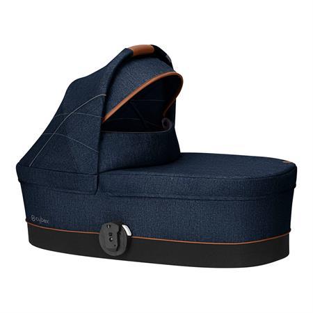 Cybex Kinderwagenaufsatz Cot S Design 2019 Denim / Denim Blue