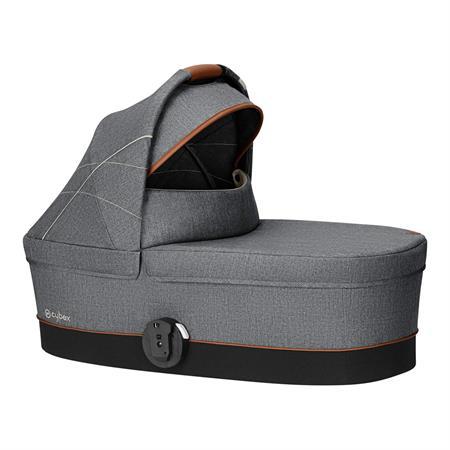 Cybex Kinderwagenaufsatz Cot S Design 2019 Denim / Manhattan Grey