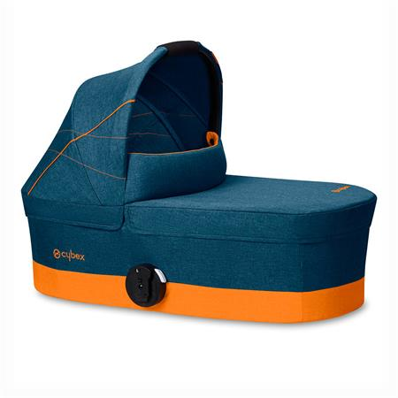 Cybex Kinderwagenaufsatz Cot S Design 2019 Tropical Blue