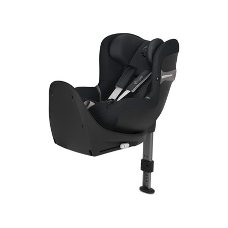 Cybex Kindersitz Sirona S i-Size mit Base Design 2018 Lavastone Black