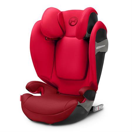 Cybex Kindersitz Solution S-fix Rebel Red
