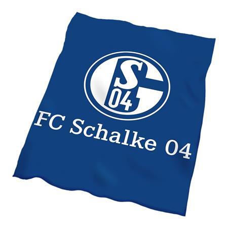 FC Schalke 04 Decke mit Logo in Blau