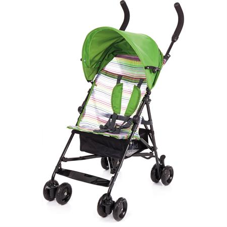 Fillikid Buggy Roller mit Korb und Dach Grün