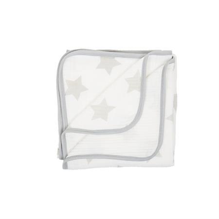 Fillikid Decke Cozy Sterne grau