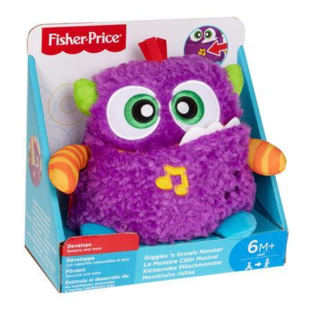 Fisher Price Lernspielzeug Kicherndes Plüschmonster