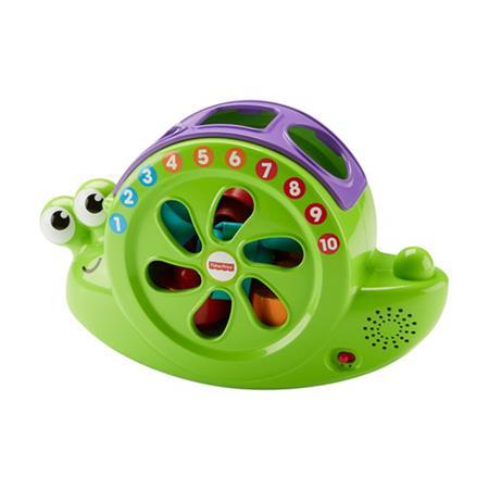 Fisher Price Lernspielzeug Babys Musikschnecke