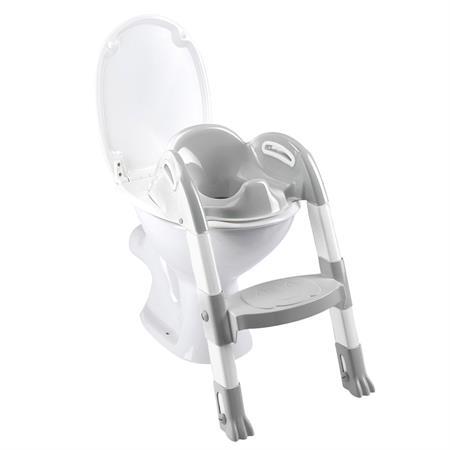 Funny Kiddyloo Toiletten-Trainer Cool Grey / White