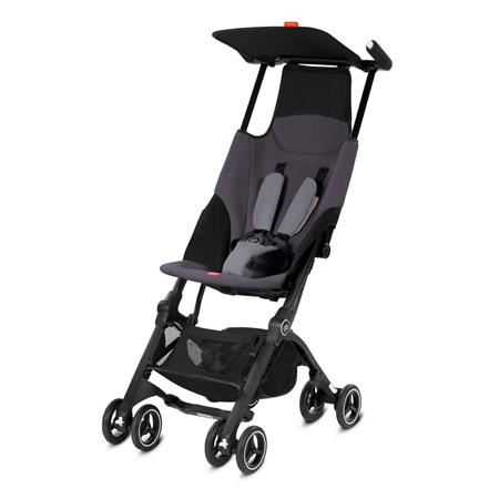 GB Good Baby Buggy Pockit Design 2018 Silver Fox Grey | mid grey