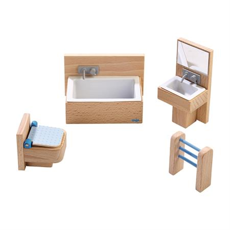 Haba Little Friends Puppenhaus-Möbel Badezimmer