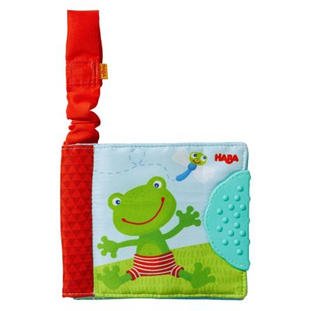 Haba 303139 Buggybuch Frosch mit Beißelement