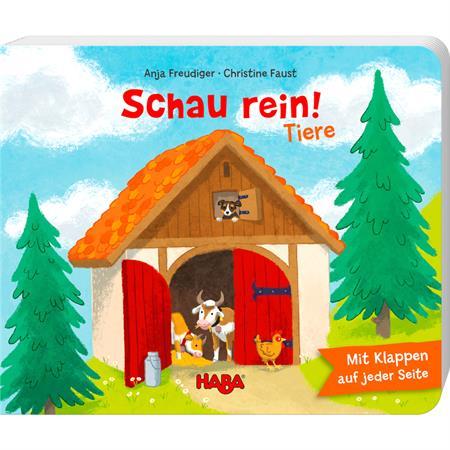 Haba Bilderbuch Schau rein-Tiere